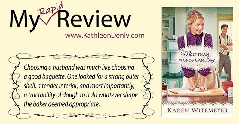 My Rapid Review – More Than Words Can Say