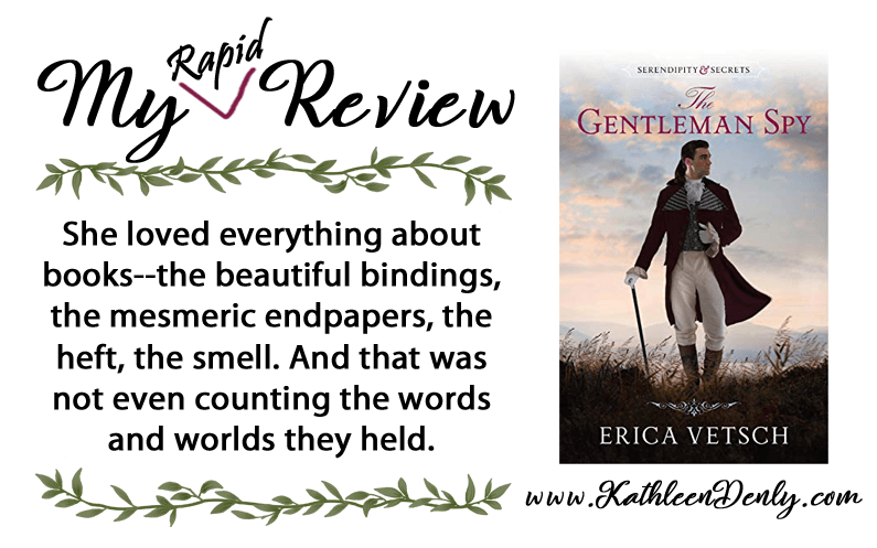 My Rapid Review – The Gentleman Spy