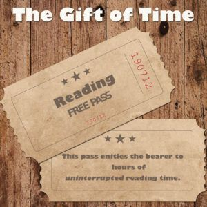 The gift of time - a reading free pass