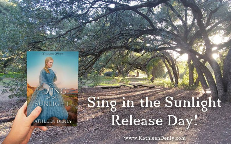 Sing in the Sunlight Release Day +More Exciting News!